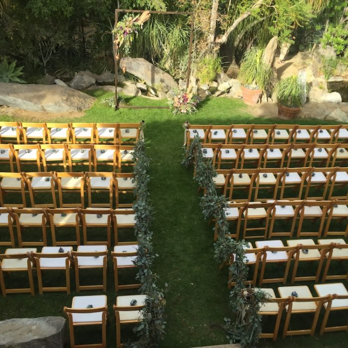 wedding spaces Palm Springs